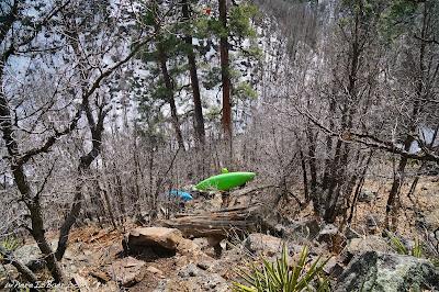 Sedona, arizona flag staff hiking river pump house wash, WhereIsBaer.com Chris Baer, kayak