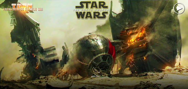 Un nou clip fantastic din Star Wars: The Force Awakens
