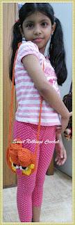 crochet sling bag