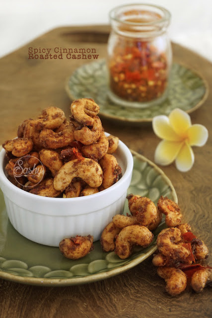 Spicy Cinnamon Roasted Cashew