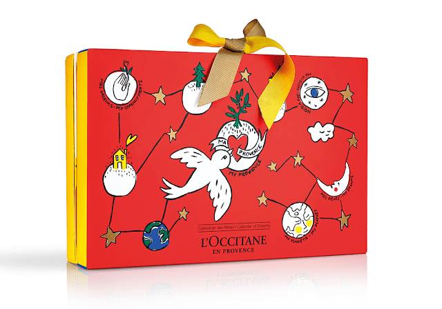 Image result for L'Occitane x Castelbajac Advent Calendar 24-Piece Holiday Gift Set