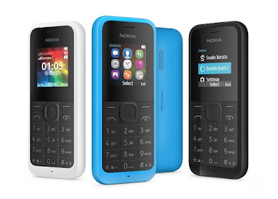 Feature Phone Terakhir Microsoft Nokia 105 Dual SIM