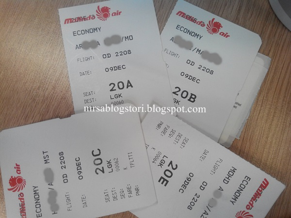 malindo air flight ticket