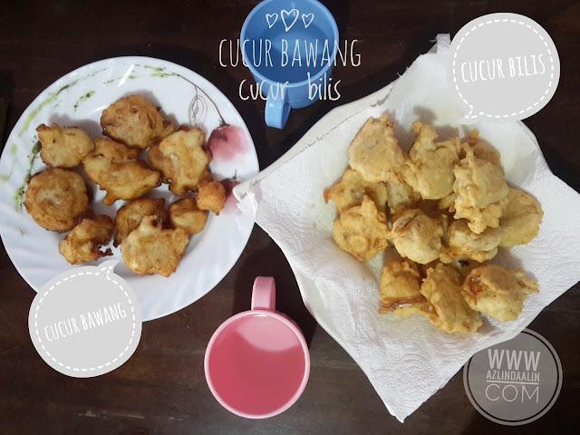 Cucur Bawang dan Cucur Bilis Breakfast Mudah Di Hujung Minggu