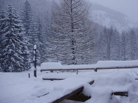 Bajkowa zima w Dolinie Strążyskiej