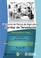 Praça na Barra do Imbuí em Teresópolis recebe Feira da Agricultura Familiar