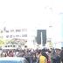 Protesto de servidores públicos deixa Av. Ulisses Caldas com trânsito bloqueado