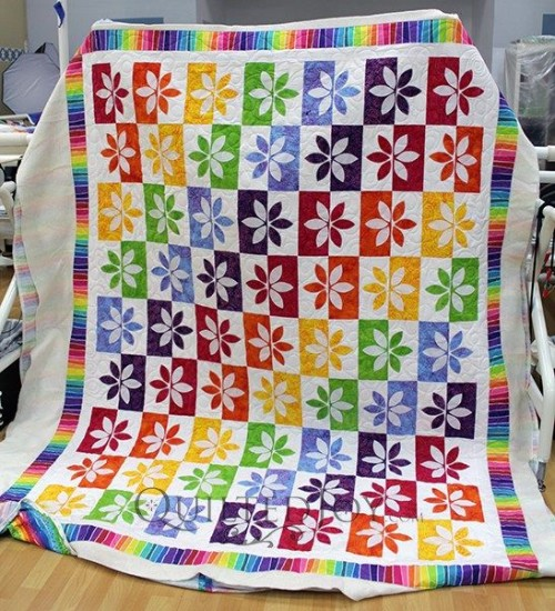 Wallflower Quilt - Tutorial