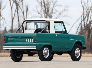 1967 Ford Bronco Half Cab Rear Right