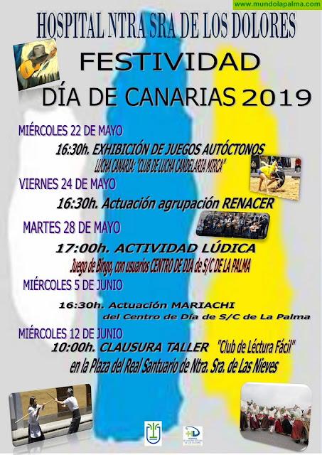 El Hospital de Dolores celebra un programa de actividades con motivo del Día de Canarias