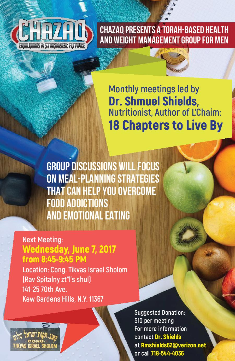 Chazaq may 2017 - Young israel of kew garden hills ...
