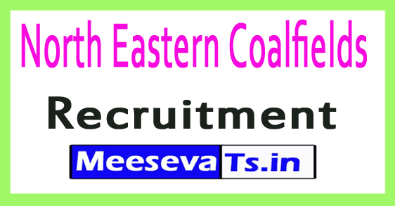 North Eastern Coalfields NEC Recruitment