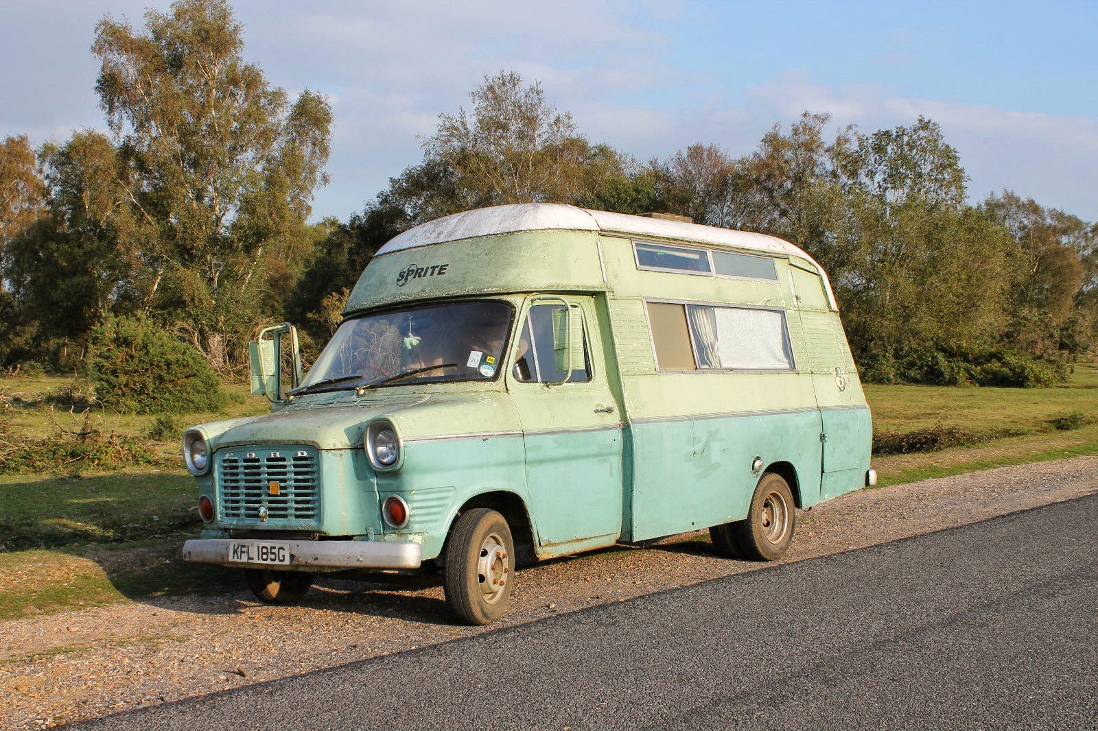 Used RVs 1968 Ford Transit MK1 Sprite Motorhome For Sale by Owner