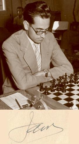 El ajedrecista Jaume Mora i Corbera