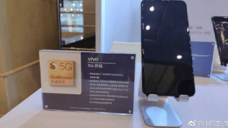 Vivo NEX 5G prototype showcased in China