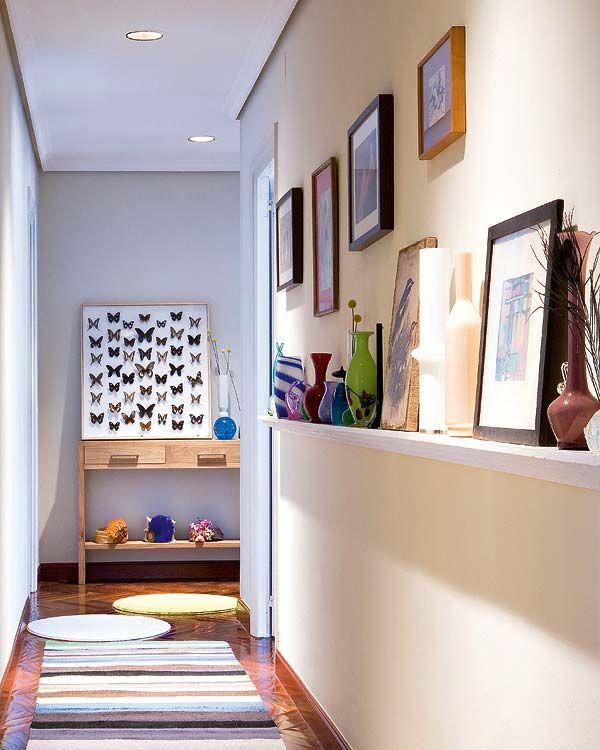 Cómo decorar pasillos estrechos