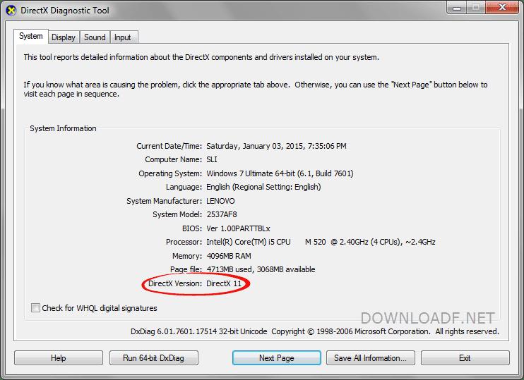 download directx 11 for windows 10 64 bit offline installer