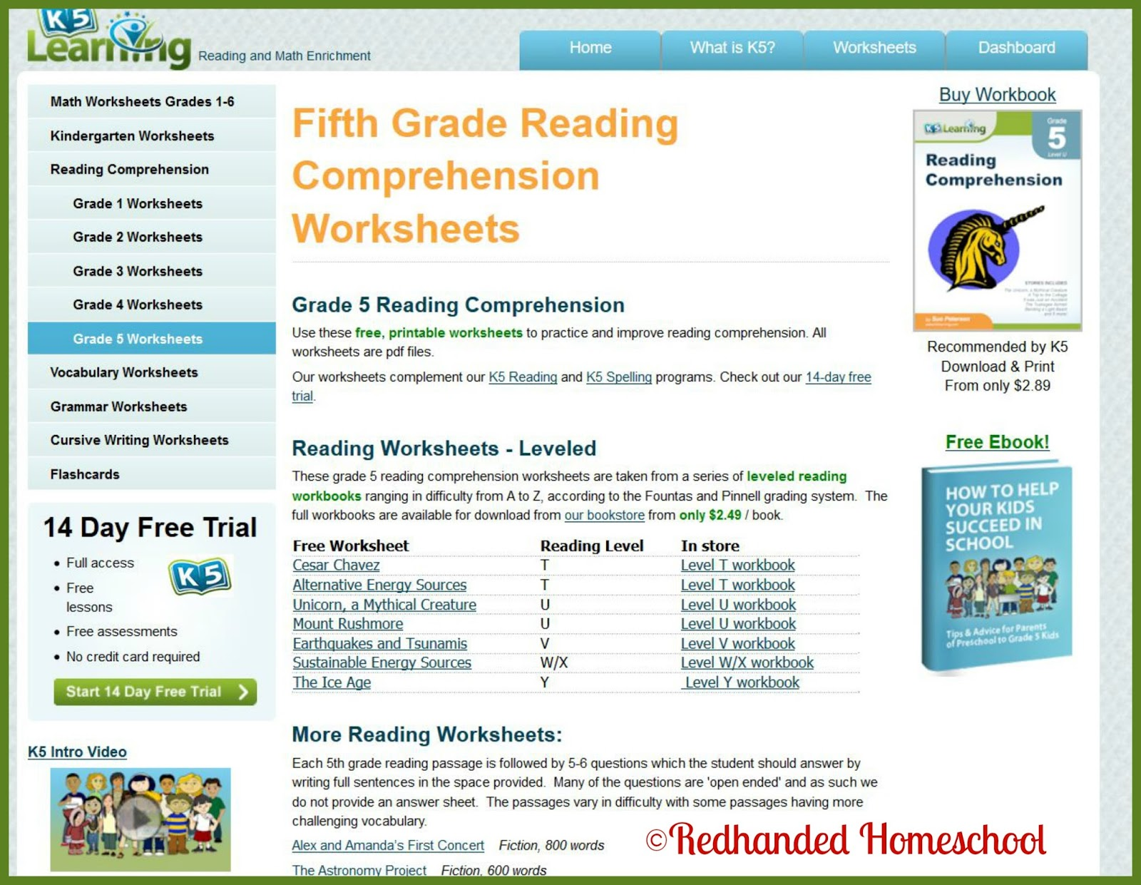 Insane In The Mombrain K5 Learning A Homeschool Crew Review