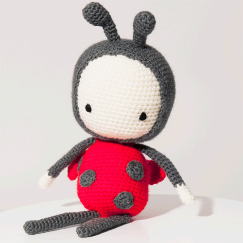 Lola the Ladybird - Free Pattern