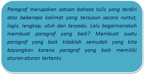 Memahami Jenis-jenis Paragraf Dalam Sebuah Penulisan Teks