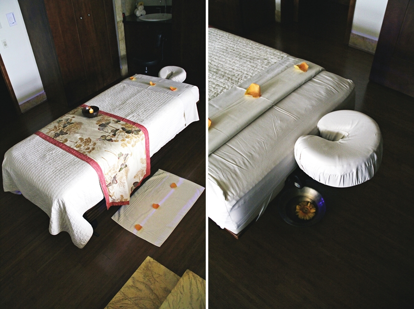 treatment massage bed