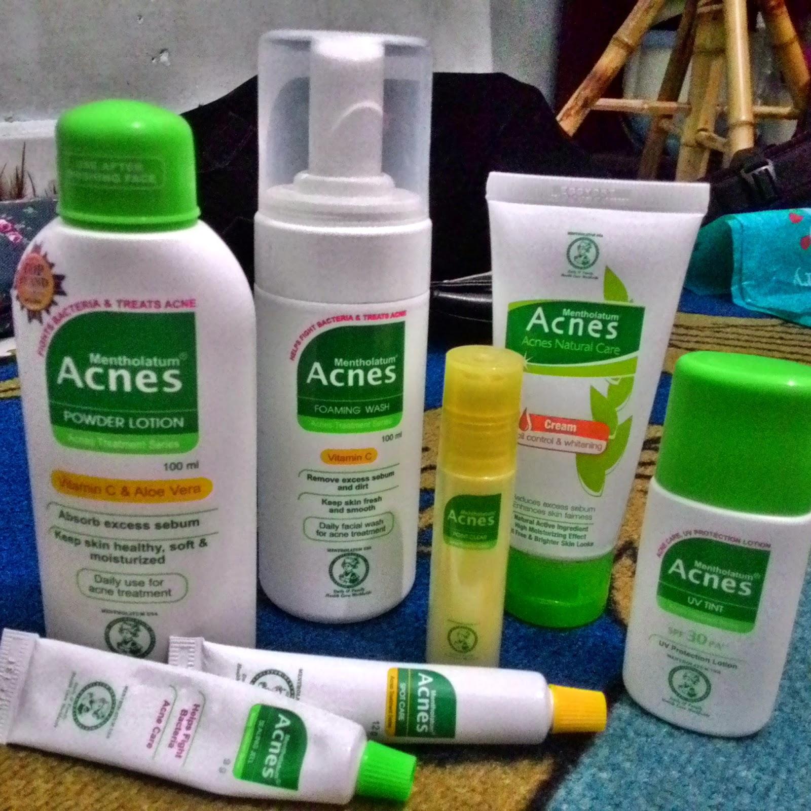 Daftar Harga Jual Acnes Natural Care Dan Treatment Series Face Wash Yogurt Sumber Http Inongsomniacblogspotcoid 2015 04 Review Produk Mentholatum Acneshtml