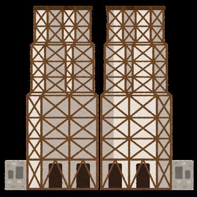 韮山反射炉のイラスト