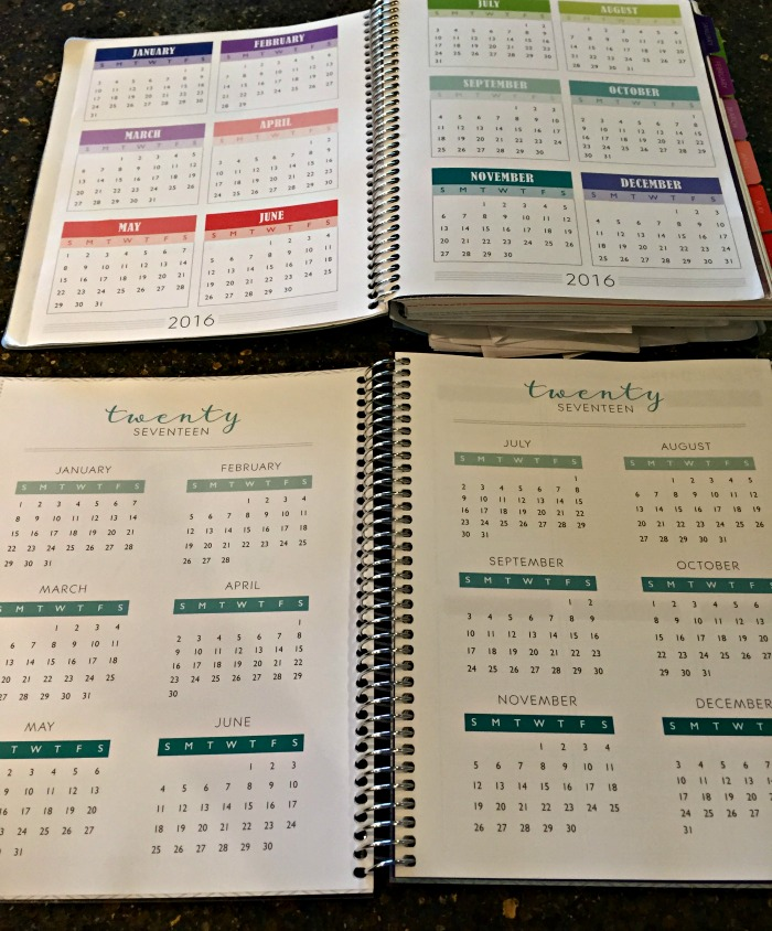 2017 Plum Paper Planner review (and comparison to 2016 planner)