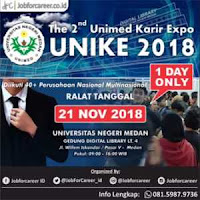 the 2nd unike 2018 (unimed karir expo ke-2)