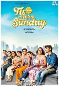 Tu Hai Mera Sunday (2017) Hindi 300mb Movie 480p WEBHD