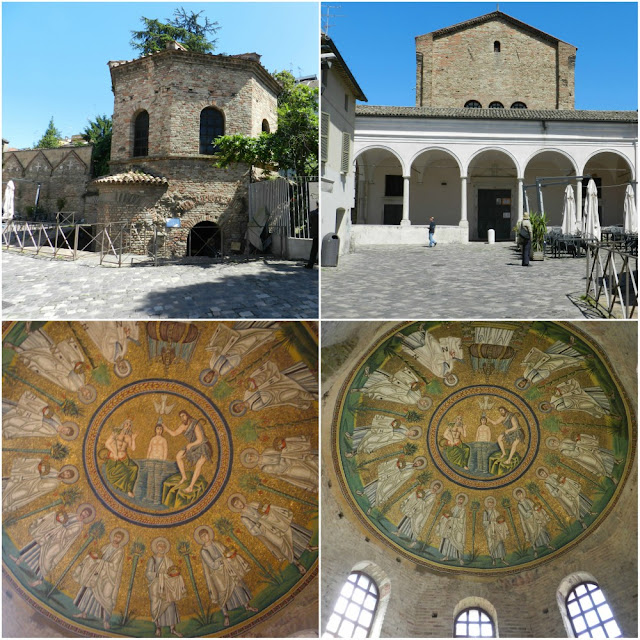 Os mosaicos de Ravenna (Itália) - Battisterio degli Ariani