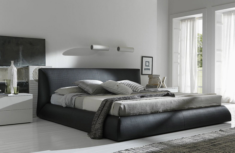 home unique and classic  Asian Contemporary Bedroom Furniture from     The Relax Storage Platform Bed