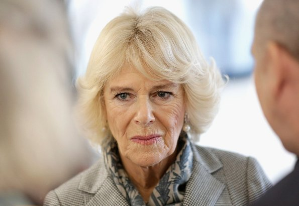 Duchess Camilla of Cornwalll visited the Children and Young People's Havens at Camberwell Haven