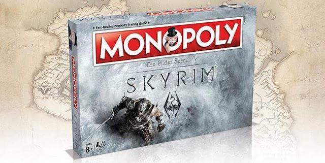 Cover Game Monopoly Skyrim 2017