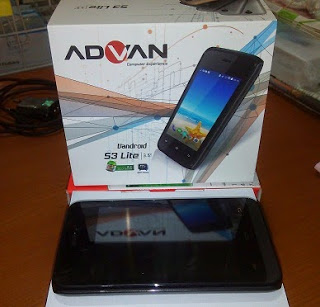 cara flash advan s3 lite