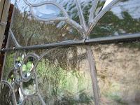 vitrail, verre biseauté, porte intérieure