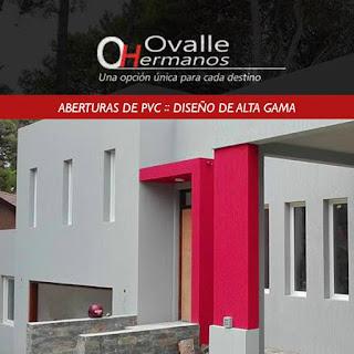 Aberturas de PVC de Alta Gama fabricadas por Ovalle Hermanos