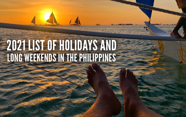 List of Holidays in the Philippines and long weekend schedule