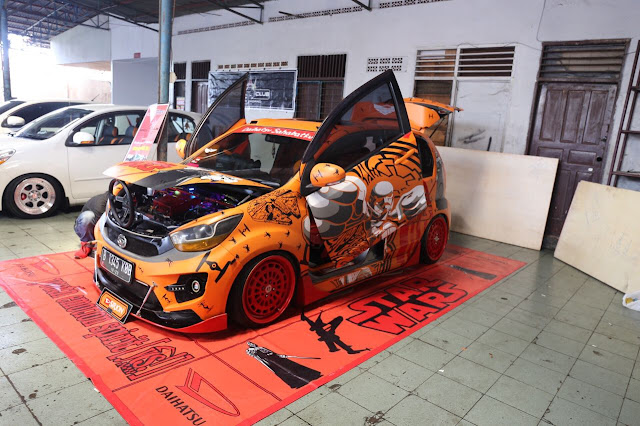 modifikasi sirion