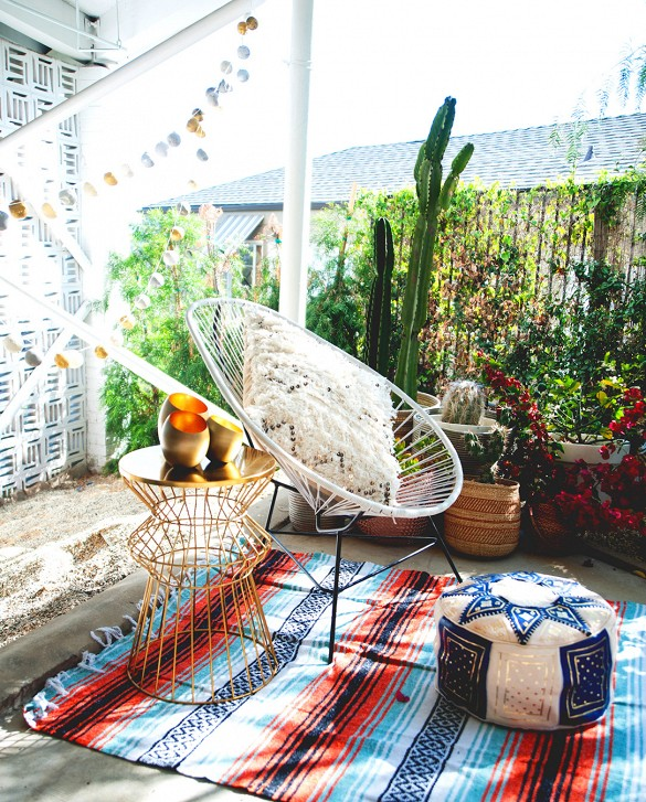 Copy Cat Chic Room Redo Desert Boho Patio Copycatchic