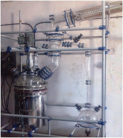 Reaction Unit (SS Jacketed) ~ Goel Scientific Glass Works Ltd