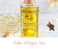 huile d'argan bio