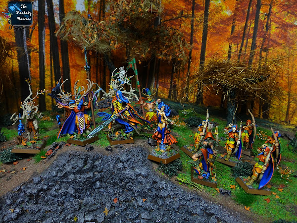 Wood Elves Wandereres Sylvaneth autumn