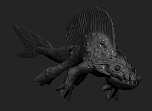 Zbrush Sea Creature Assignment