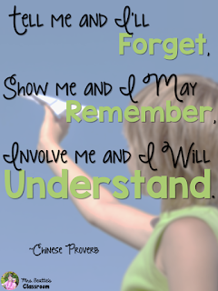 Photo of child with paper airplane and a Chinese proverb