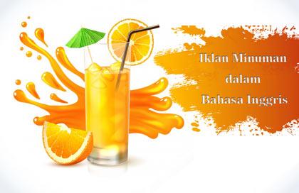 10 Contoh Iklan Minuman Dalam Bahasa Inggris Beserta Gambar Dan
