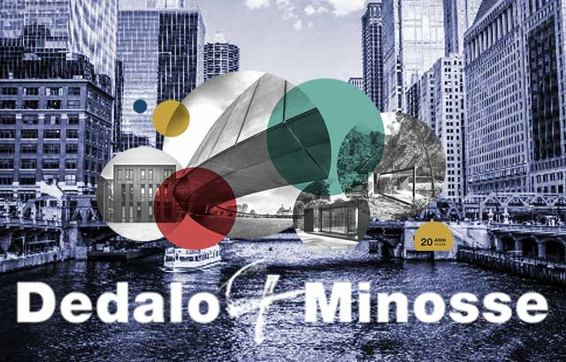 Dedalo Minosse will be on display at the Italian Cultural Institute of Chicago