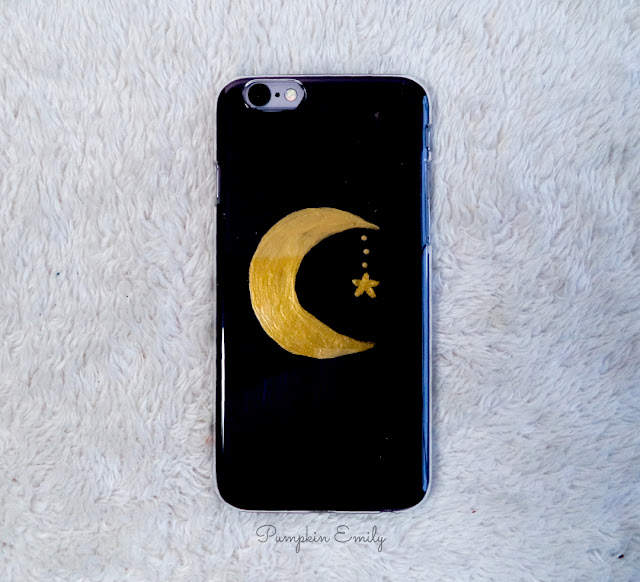 Tumblr DIY Moon Phone Case