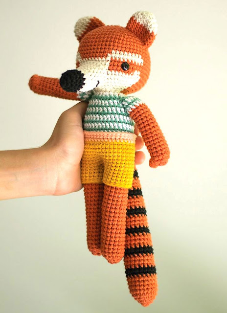 amigurumi raccoon crochet pattern