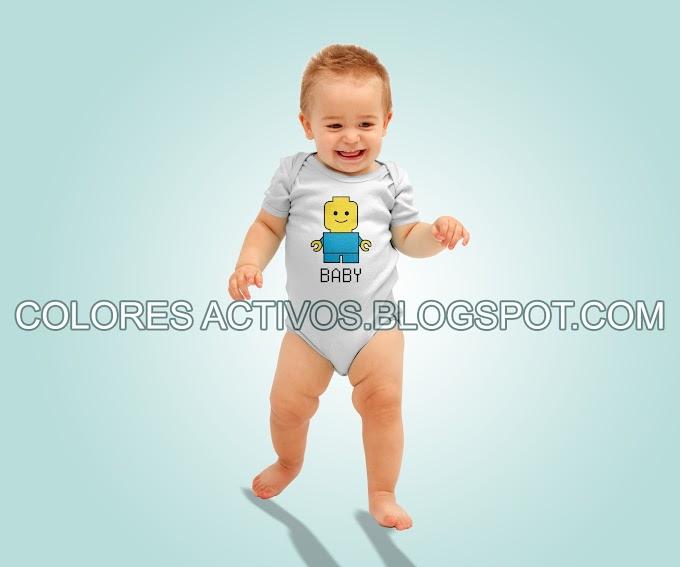 VECTOR Y PNG LEGO BABY